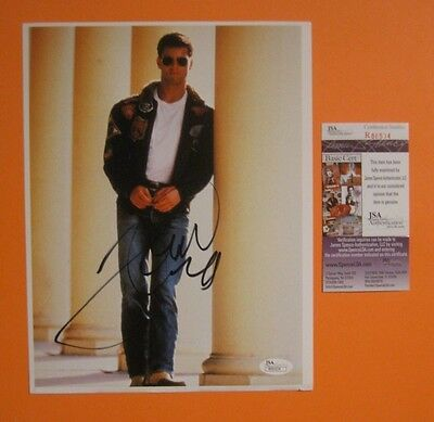 Tom Cruise signed 8 X 10 color photo Certified Authentic JSA COA