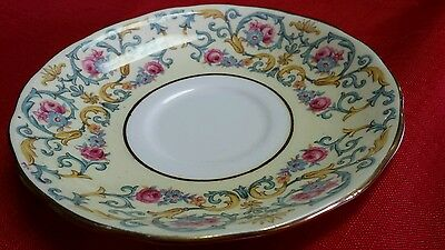 Fine Bone China Saucer by Colclough  Made in England