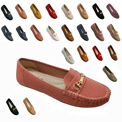 Womens Moccasins Slip On Indoor Outdoor Slipper Shoes