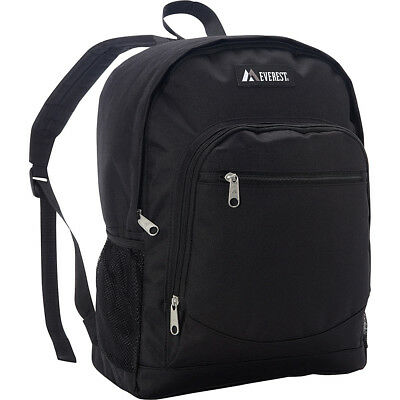 Everest Casual Backpack with Side Mesh Pocket 7 Colors Everyday Backpack NEW