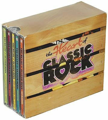 NEW SEALED V-A- The Heart of Classic Rock 10 CD Box Set Time Life