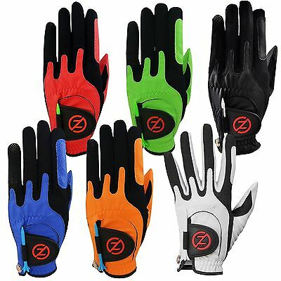 Zero Friction Performance Compression Fit Golf Glove- One Size Fits All