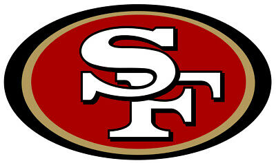 San Francisco 49ers Vinyl Decal  Sticker 5 sizes