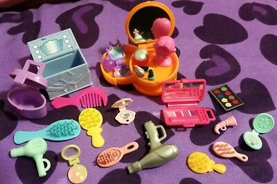 Monster High Barbie Doll House Miniatures Accessories Lot Cosmetics 16  makeup