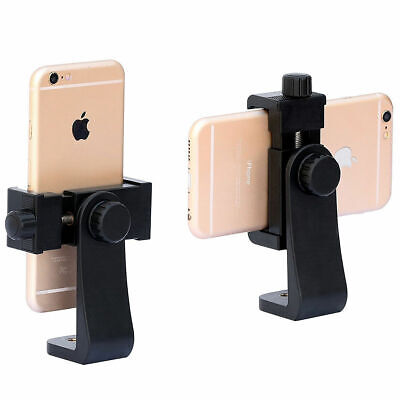 Universal Cell Phone Tripod Vertical Bracket Holder Mount for iPhone X Samsung