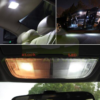 14x Full White Interior LED SMD Light  Package Kit for 2007-2013 Chevy Silverado