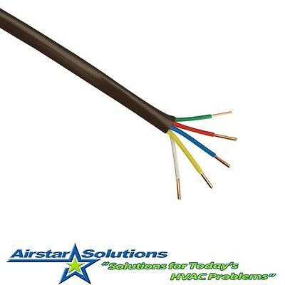 18  5 Thermostat Wire 18 Gauge 5 Wire Conductor - Choice of Length