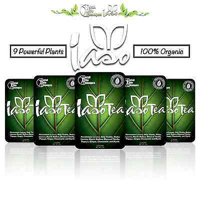 FREE SHIPPING WITH TRACKING  IASO TEA  22-49 FOR 1 MONTH SUPPLY