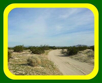 10 ACRES NEWBERRY SPRINGS CALIFORNIAACTUAL PICTURESNO RESERVE AUCTION