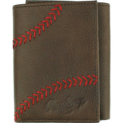 Rawlings Home Run Trifold Wallet 2 Colors Mens Wallet NEW