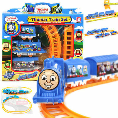 Tomas Electric Handcrafted Train- Track Set Educational Toys Gift for Kids Boys