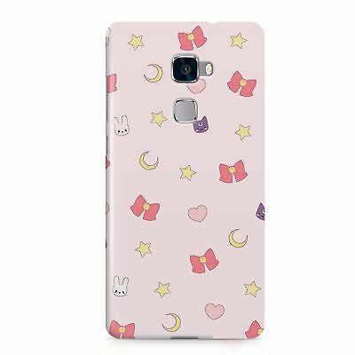 Moon Cats Stars Pattern Designer Phone Case Cover Protector