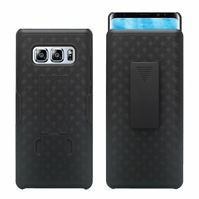 Kickstand - Holster Combo Case with Belt Clip for Samsung Galaxy Note 8