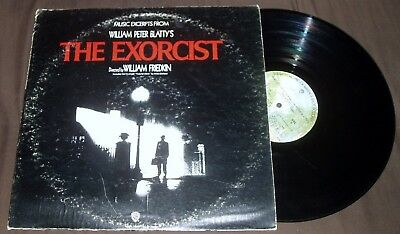 The Exorcist Soundtrack LP Vinyl Record Cult Halloween Horror Crafts Decorations