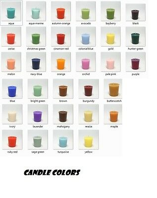 Candle Dye - 10 Count Dye Chips-multiple color choices