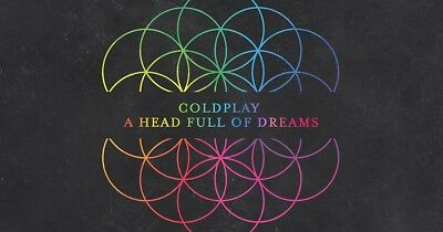 3 Coldplay Head Full of Dreams Tour Plaza 38 Row 7 Tickets San Diego 10817