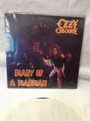 Ozzy Osbourne Diary Of A Madman Lp 1981 Jet Records