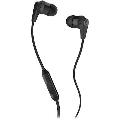 Skullcandy Inkd 2-0 Earbuds in Black with Inline Mic