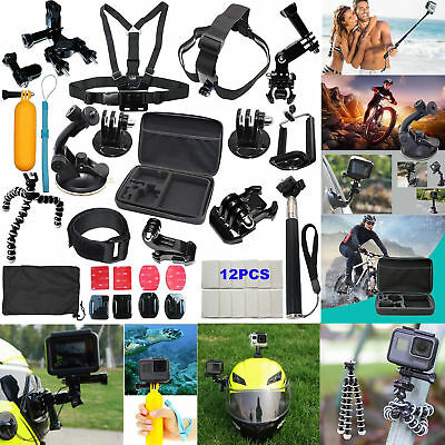 Outdoor Sport Accessories 37-in-1 Kit Accessory for GoPro Hero 3- 4 5 2 1 Camera
