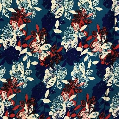 Printed Rayon Challis Fabric 100 Rayon 5354 wide Sold by the Yard 979-3