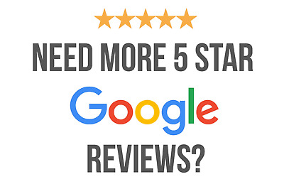 5 Five Star Google- Review For Your Business seo lifetime google review