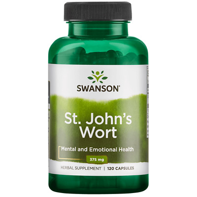 Swanson St- Johns Wort 375 mg 120 Caps