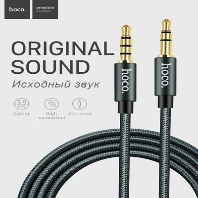AUX AUXILIARY 3-5mm Cable Male to Male Car Audio Cord For iPhone Samsung HTC LG