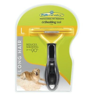 FURminator® deShedding Tool for Large Dog 51-90 lbs with Long Hair LDL