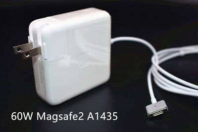 Original OEM Apple A1435 60w MS 2 Power Charger Adapter for MacBook Air Pro 13