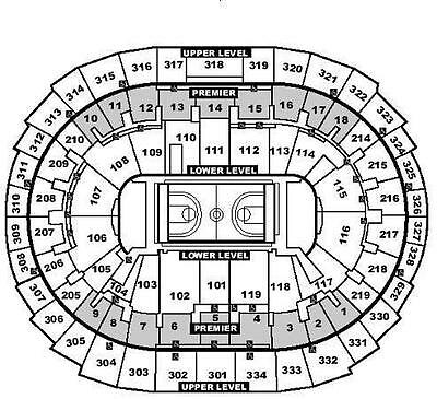 1 LA LAKERS vs San Antonio Spurs 11118 ticket Sec321 Row2 49 AISLE