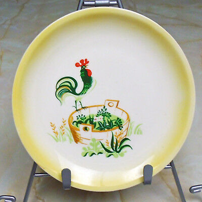 Vintage Mid-century Paden City Pottery Bread Plate in Provinical