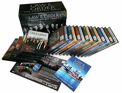 Law and Order The Complete Series DVD 104-Disc Set 2011 Seasons 1-20 New