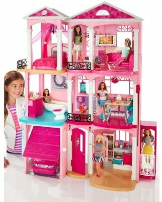 Barbie DreamHouse Playset with 70- Accessory Pieces Classic modern rooms New