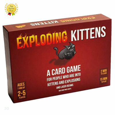 Exploding Kittens Game- NEW- It is called Original Edition-