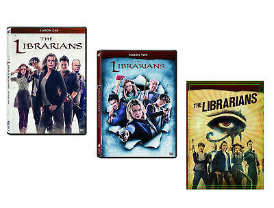 The LibrariansComplete Season One-Two-Three 1-3 3 DVD Sets NEW 1 2 3 TNT