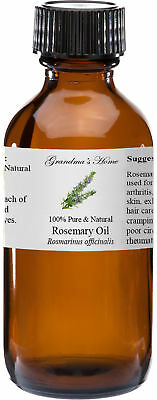 Rosemary Essential Oil - 4 oz - 100 Pure and Natural - Free Shipping