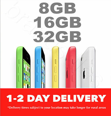 AS NEW Apple iPhone 5c 8GB 16GB 32GB 4G 100 Unlocked EXPRESS FROM MELBOURNE MR