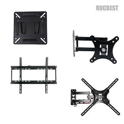 Fixed Tilt Full Motion TV Wall Mount 10-70 Inches 24 32 40 43 49 50 55 58 65 70