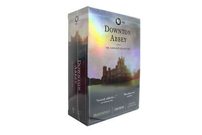 Downton AbbeyThe Complete Series CollectionDVD22-Disc SetSeasons 1-6NEW