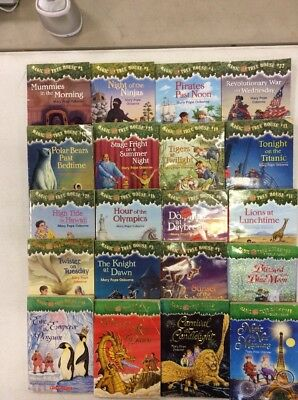 10 Magic Tree House Books for 14-98 and Free Shipping