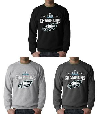 Philadelphia Eagles Sweatshirt Super Bowl LII Champs Adult Sweat Shirt Champions