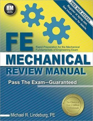 FE Mechanical Review Manual  Rapid Preparation for the Mechanical Fundamentals