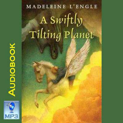 Wrinkle In Time Quintet 3 - A SWIFTLY TILTING PLANET - Madeleine LEngle -MP3CD