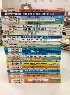 Lot of 10 Dr Seuss Beginner Books - Bright and Early Books Free Shipping