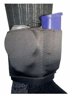 Gould - Goodrich Ambidextrous Black Ankle Carrier for Cuff and Magazine