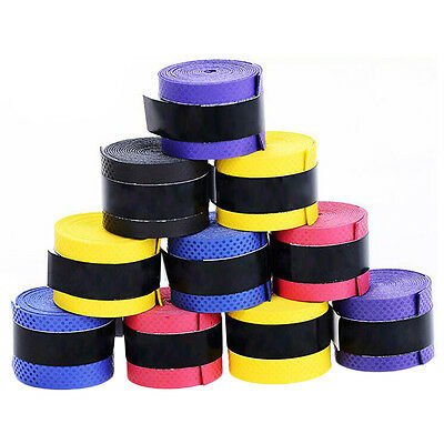 102030PCS  Squash Racquet Band Grip Absorb sweat stretchy Tennis Tape Overgrip