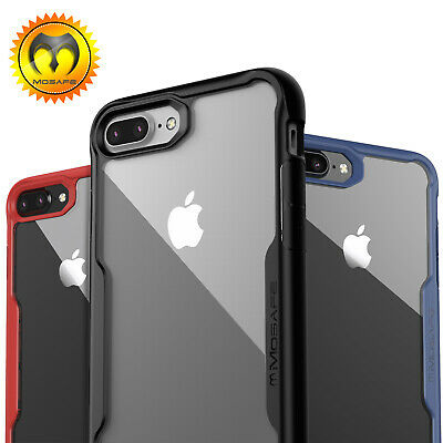For Apple iPhone 8 7 Plus Mosafe® Shockproof Clear Hard Protective Case Cover