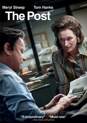 NEW The Post DVD 2017  Drama PRE-ORDER SHIPS ON 04-17-18