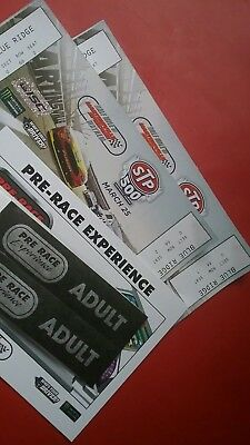 NASCAR Cup tickets 2 Martinsville on aisle plus pre-race passes