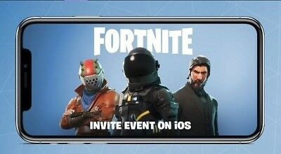 Fortnite Mobile Code  2 in Stock IOS